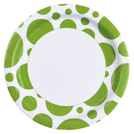 Set 8 farfurii verde