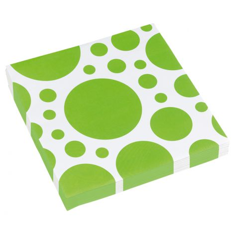 Set 20 servetele verde