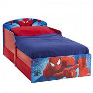 Pat spiderman cu spatiu depozitare