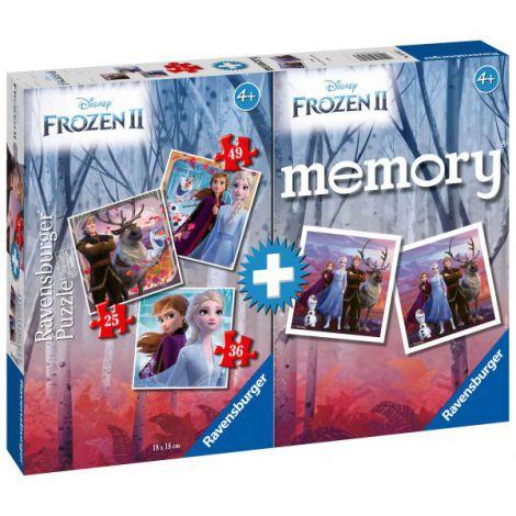 PUZZLE + JOC MEMORY FROZEN II