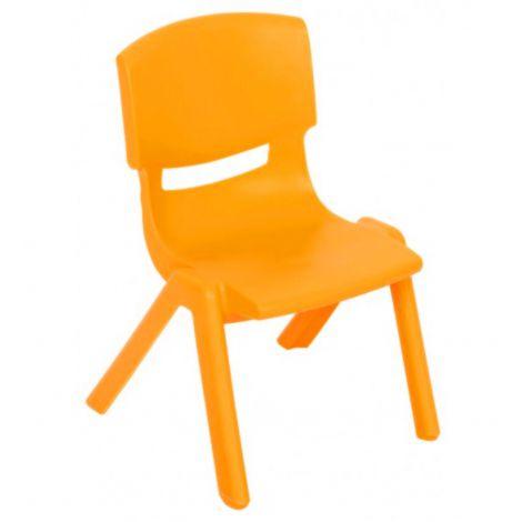 Scaun gradinita - Dumi – marimea 2 – portocaliu