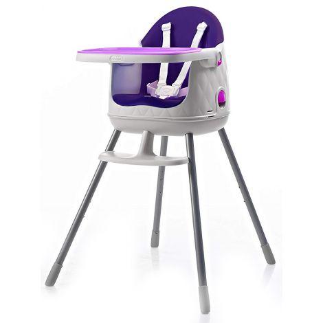Scaun masa copii reglabil 3 in 1 Keter Violet