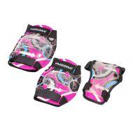 Set protectii pentru copii, culoare roz, marime M
