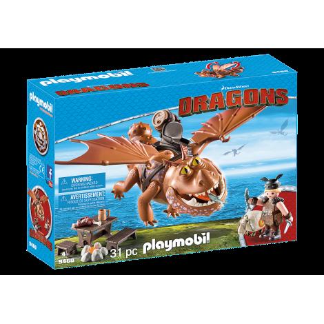 Dragons - Fishlegs Si Meatlug imagine