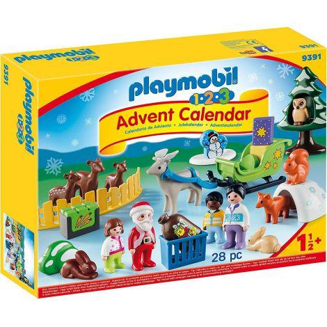 Calendar Craciunul in padure - Playmobil 1.2.3