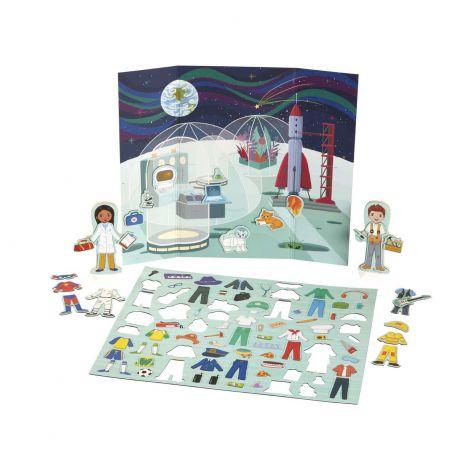 Set magnetic de joaca Meserii - Melissa & Doug