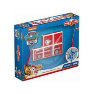 Set Constructie Magnetic Magicube Paw Patrol Pompierul Marshall