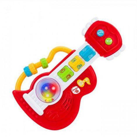 Chitara muzicala Globo Instrument de jucarie cu sunete si lumini