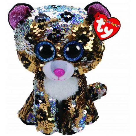 Plus cu paiete leopardul STERLING (24 cm) - Ty