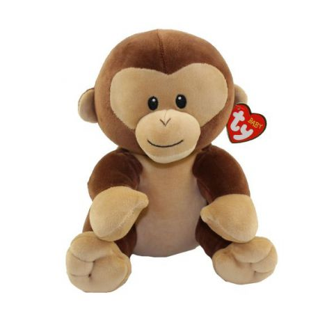 Plus bebelusi maimuta BANANA (24 cm) - Ty
