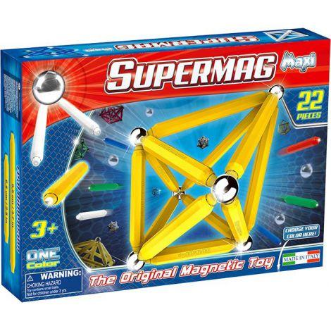 Supermag Maxi One Color - Set Constructie 22 Piese