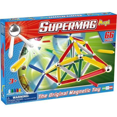 Supermag Maxi Primary - Set Constructie 66 Piese imagine