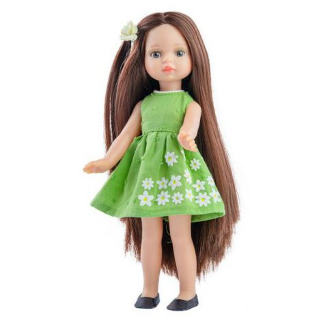 Papusa ESTELA in rochie verde - MiniAmigas, Paola Reina