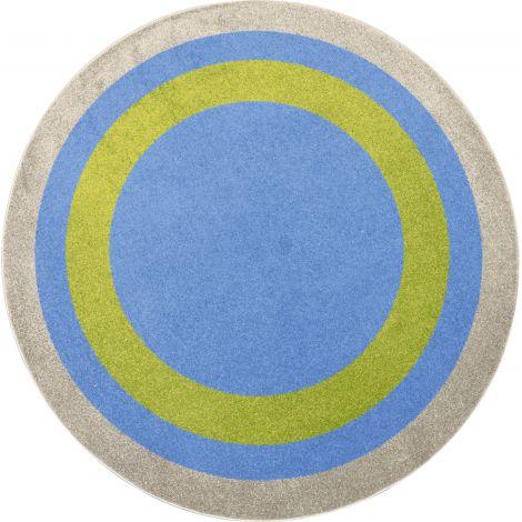 Covor rotund - Multicolor
