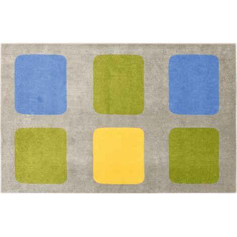 Covor Geometry - Multicolor imagine