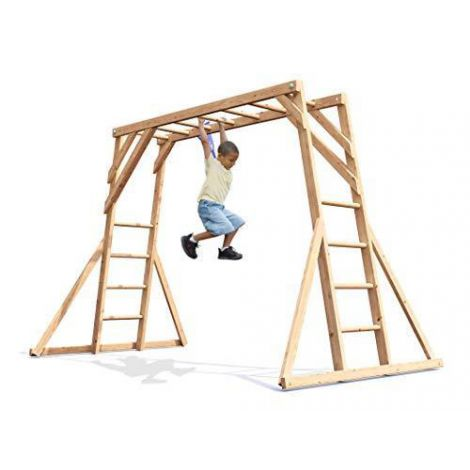 Catarator monkey Bars Climbing Frame Dunster House