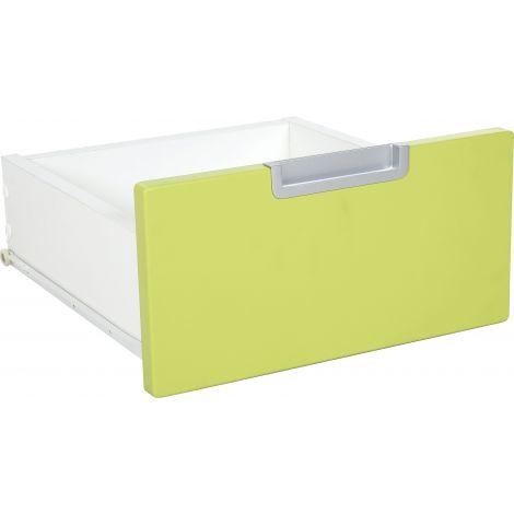 Sertar ingust pentru dulap Quadro verde lime