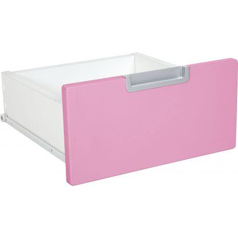 Sertar ingust pentru dulap Quadro - roz deschis