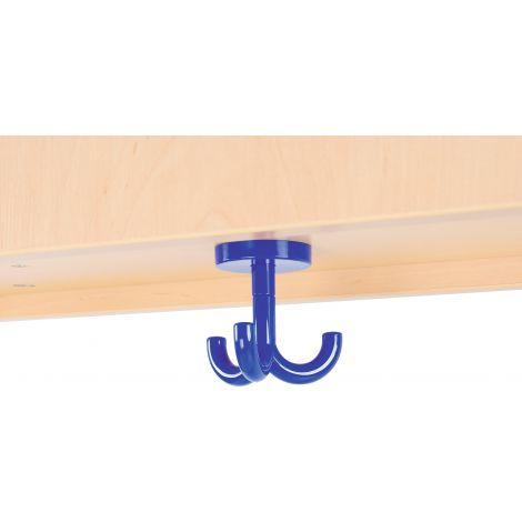 Cuier albastru pentru vestiar Flexi/Quadro
