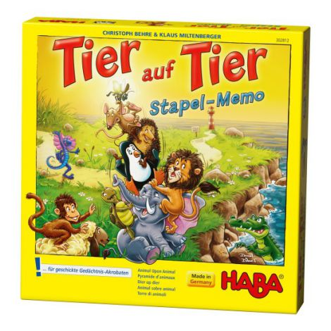 Joc De Memorie, Haba, Piramida Animalelor, 5ani+ imagine