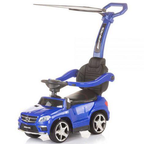 Masinuta de impins cu copertina Chipolino Mercedes Benz GL63 AMG blue