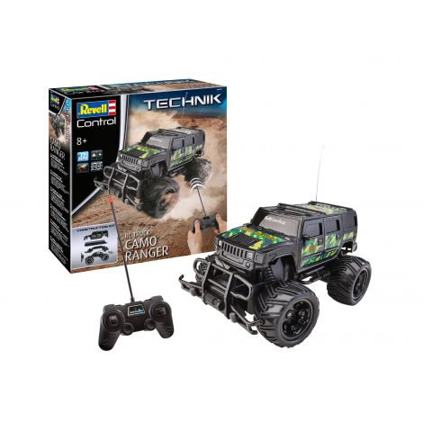 Revell rc construction kit truck camo ranger