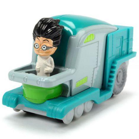 Masina Dickie Toys Eroi in Pijama Romeo\'s Lab cu figurina