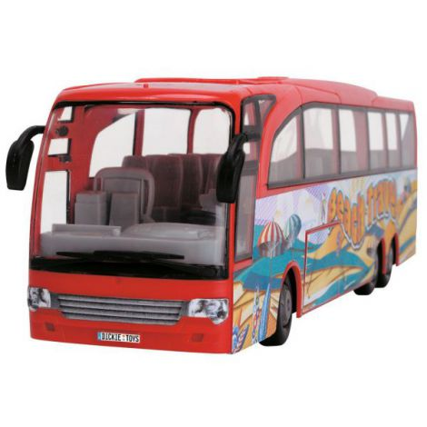 Autobuz Dickie Toys Touring Bus Rosu imagine