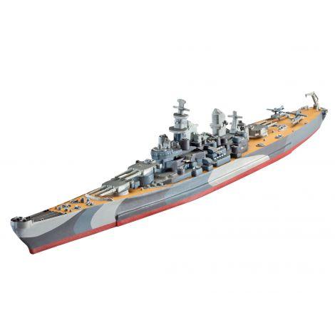 Revell model set battleship u.s.s. missouri wwii