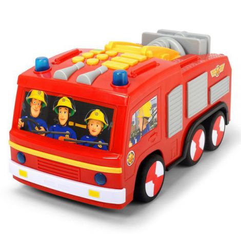 Masina De Pompieri Dickie Toys Fireman Sam Super Tech Jupiter imagine