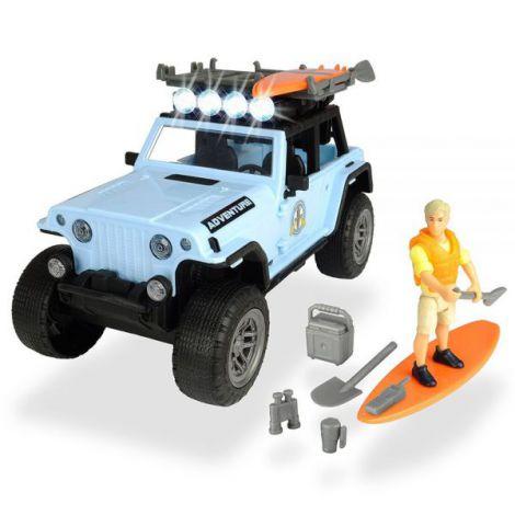 Masina Dickie Toys Playlife Surfer Set Cu Figurina Si Accesorii imagine