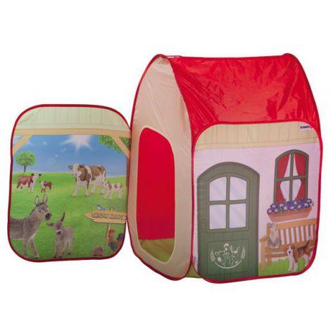 Cort De Joaca John Farm Cu Figurina Schleich 72x72x105 Cm imagine