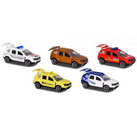 Set Majorette 5 Masinute Dacia Duster imagine