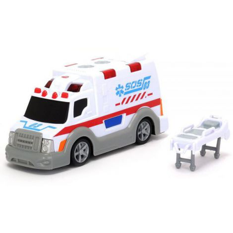 Masina Ambulanta Dickie Toys Ambulance Sos 03 imagine