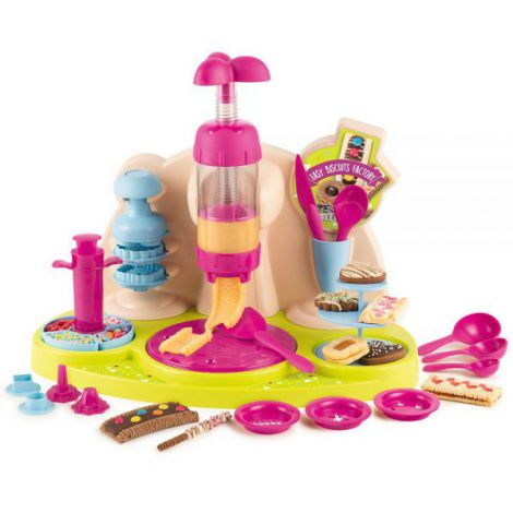 Jucarie Smoby Aparat pentru preparare biscuiti Chef Easy Biscuits Factory cu accesorii