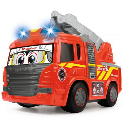 Masina De Pompieri Dickie Toys Happy Scania Fire Truck imagine