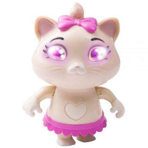 Figurina Smoby 44 Cats Pilou 15,3 cm cu sunete si lumini