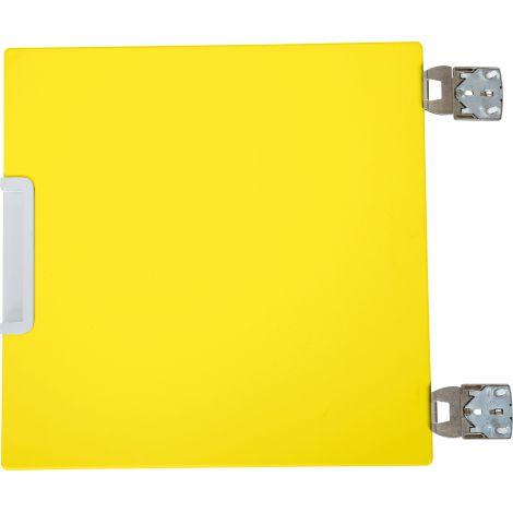 Usa mica centrala pentru dulap Quadro galben