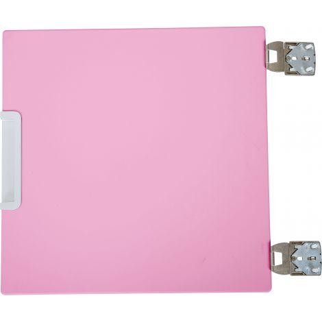 Usa mica centrala pentru dulap Quadro - roz deschis