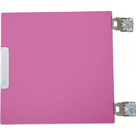 Usa mica centrala pentru dulap Quadro roz