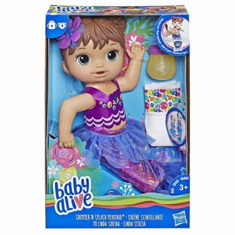 Bebelusul Baby Alive Papusica Shimmer Sirena