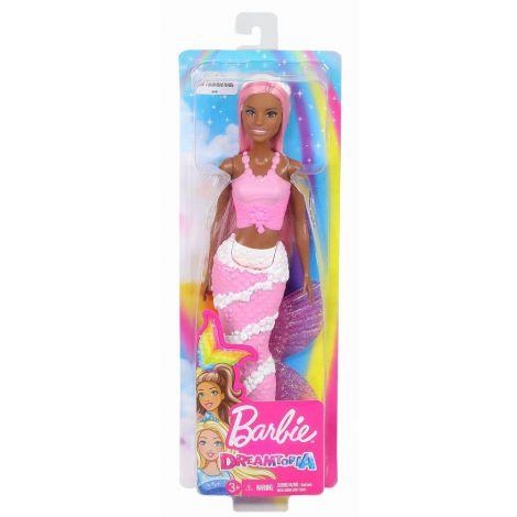 Barbie Papusa Dreamtopia Sirena Cu Corpul Violet
