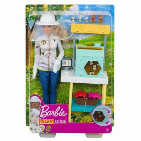 Barbie Cariere Set Mobilier Cu Papusa Apicultor