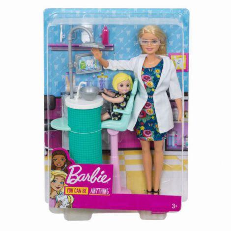 Barbie Cariere Set Mobilier Cu Papusa La Stomatolog