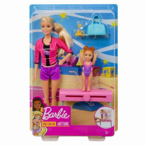 Papusa Barbie Cariera In Sport Antrenoare De Gimnastica