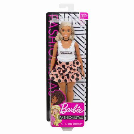 Papusa Barbie Fashionista Cu Parul Blond