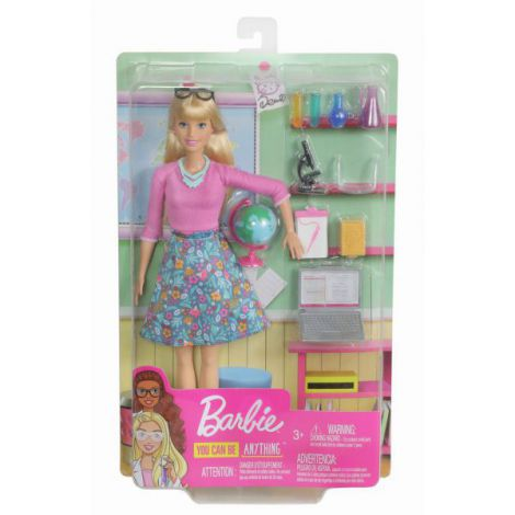 Papusa Barbie Set Profesoara