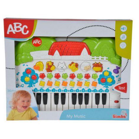 Abc Orga Muzicala Bebe Cu Animale