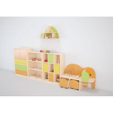 Set mobilier gradinita Colorful 21