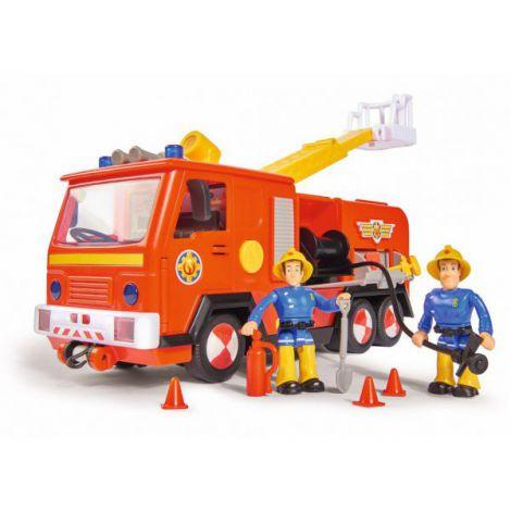 Masina Pompierului Sam Cu 2 Figurine Si Functiuni